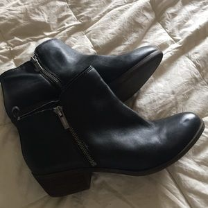 Lucky Brand genuine leather booties